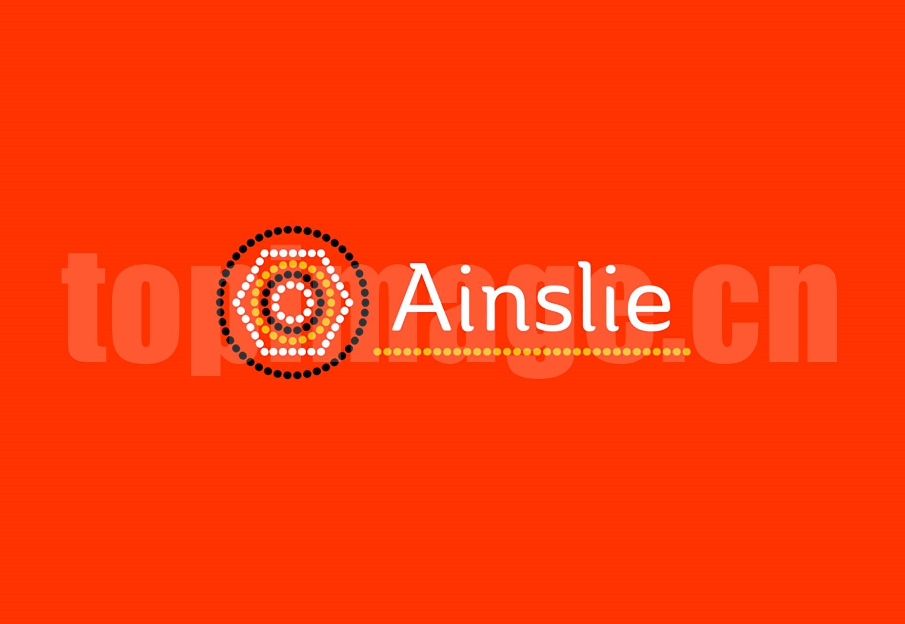 Ainslie Regular 现代简约纤细 英文字体 logo设计字体下载