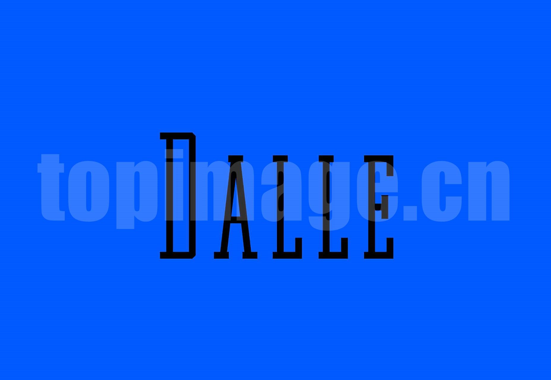 Dalle_Typeface 海报logo设计字体 简洁纤细 英文字体下载