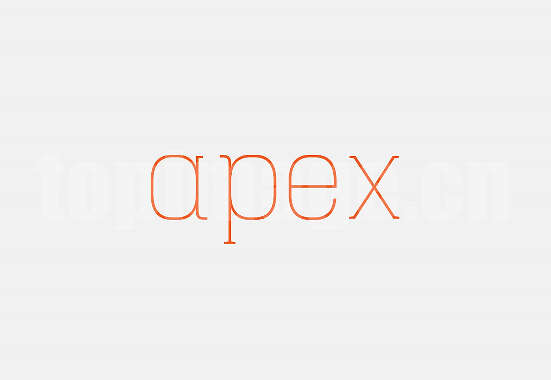 Hapna简洁纤细 logo设计 英文字体下载