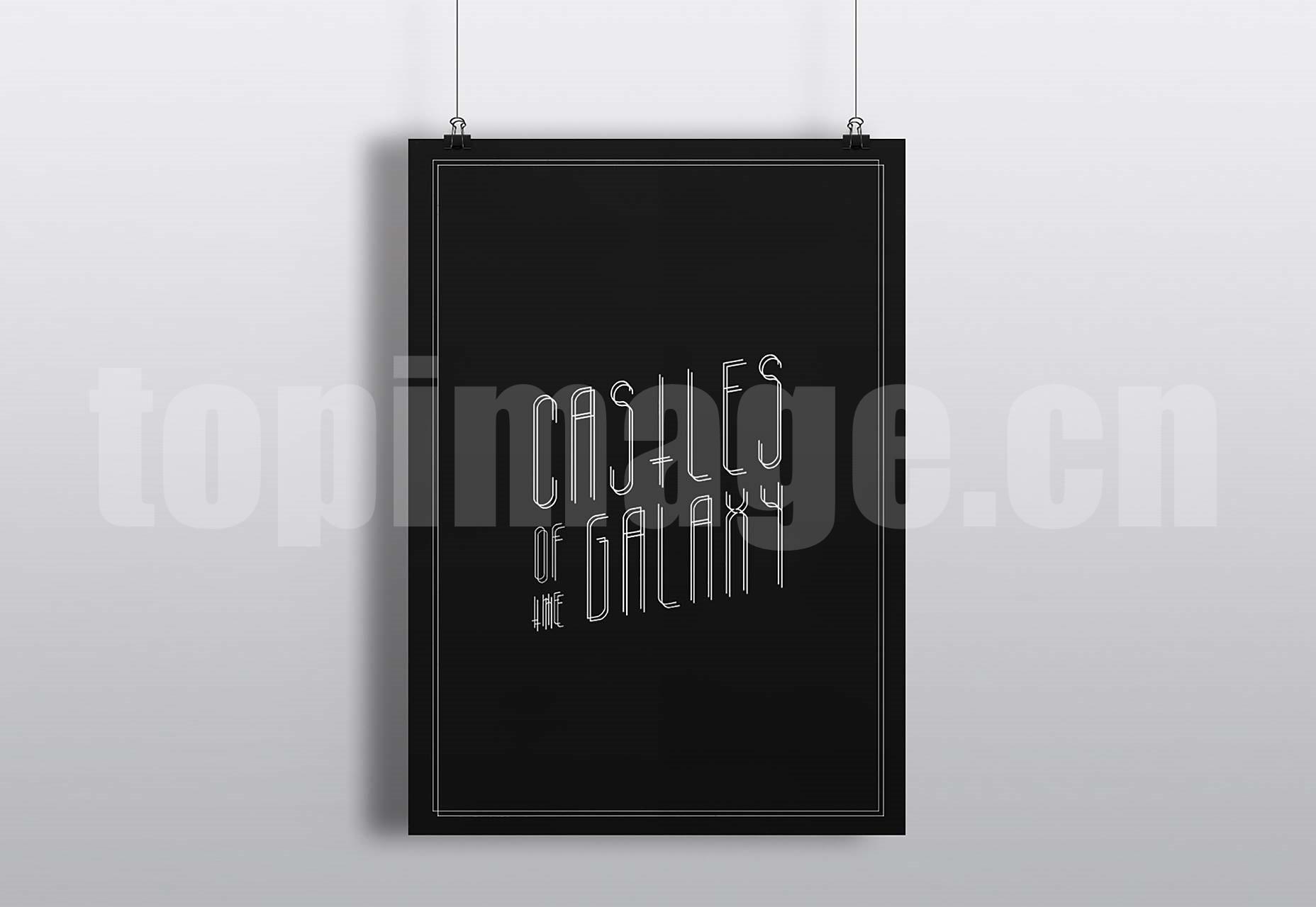 Galacticastle 简洁纤细 经典优雅 创意logo英文字体下载