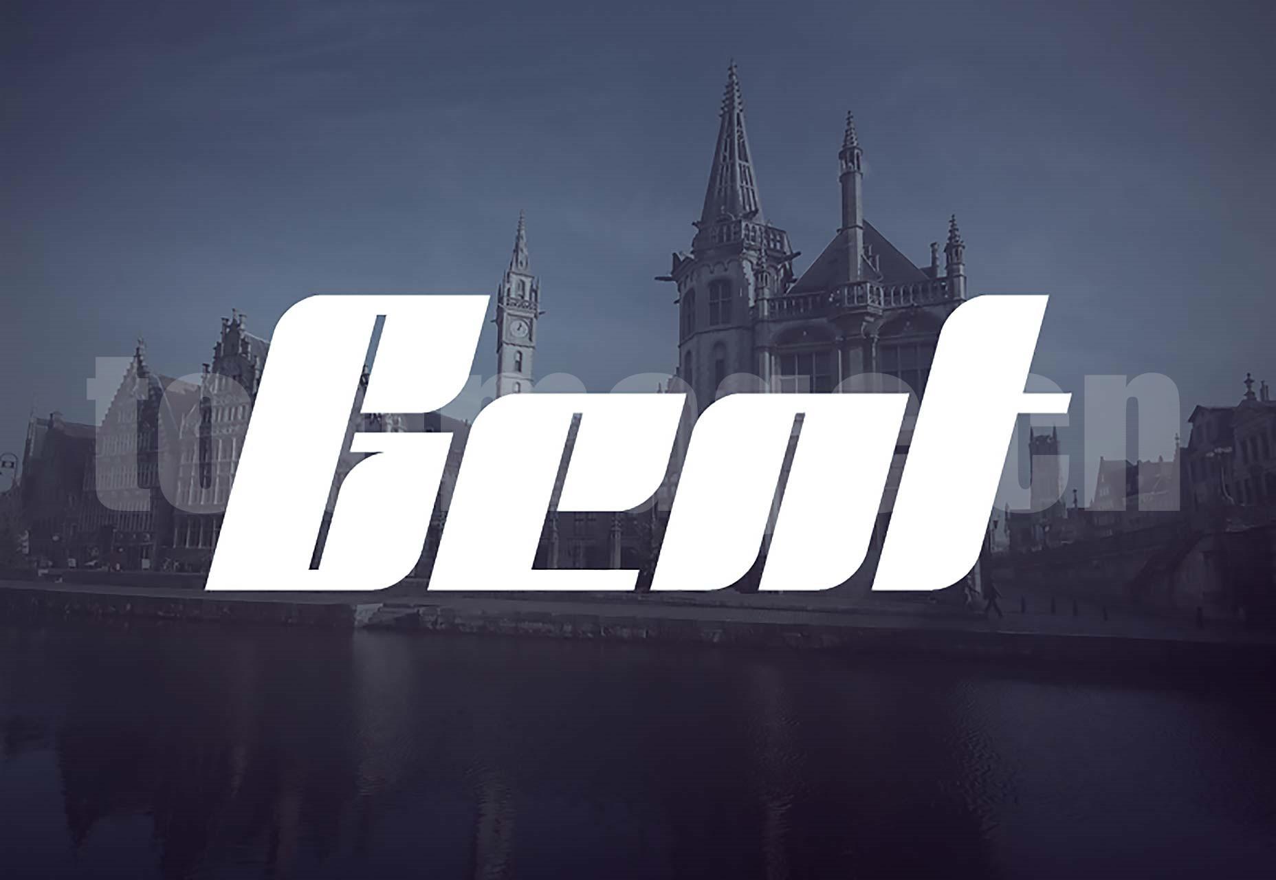 Gent创意海报 经典优雅 logo英文字体下载