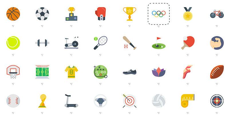 奥林匹克运动会运动项目icon图标下载橄榄球滑板奖杯