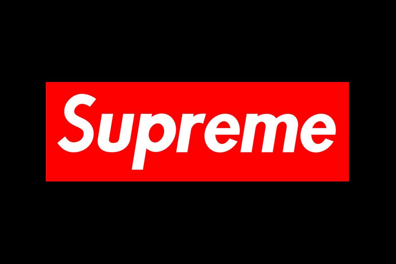 supreme网红logo品牌标志英文字体下载