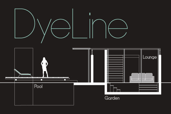 DyeLine现代纤细简约无衬线logo英文字体下载