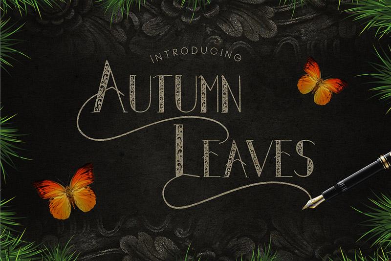 Autumn Leaves 个性英文字体下载