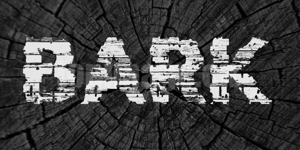 BARK罗马破损质感个性化艺术英文字体下载