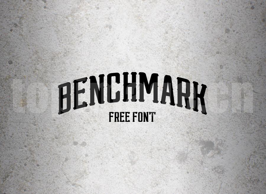 Benchmark罗马个性化艺术海报英文字体下载