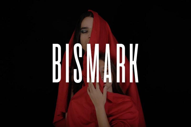 Bismark等宽无衬线时尚排版英文字体下载