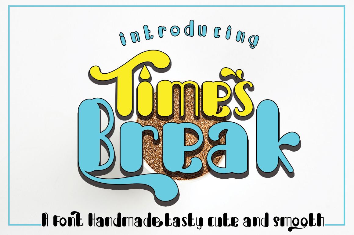 Break Times 手写手绘个性英文字体下载