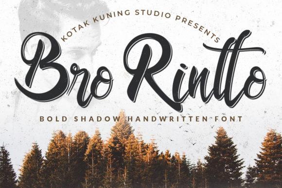 Bro Rintto时尚英文字体字体下载