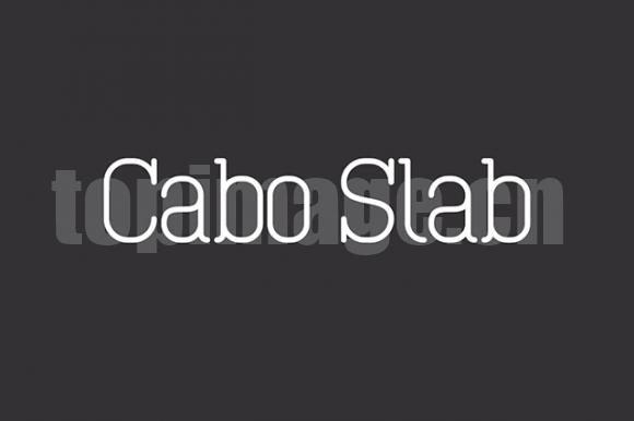 Cabo衬线简约现代英文字体下载