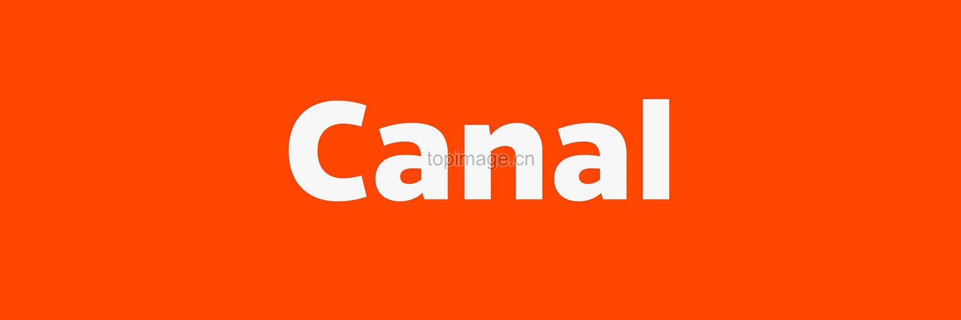 Canal现代简洁无衬线国际英文字体下载