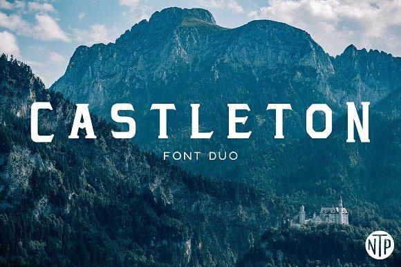 Castleton个性游戏英文字体下载