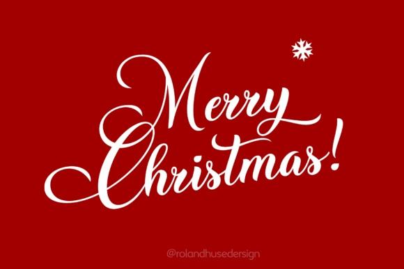 ChristmasWish圣诞新年手写连笔花式英文字体下载