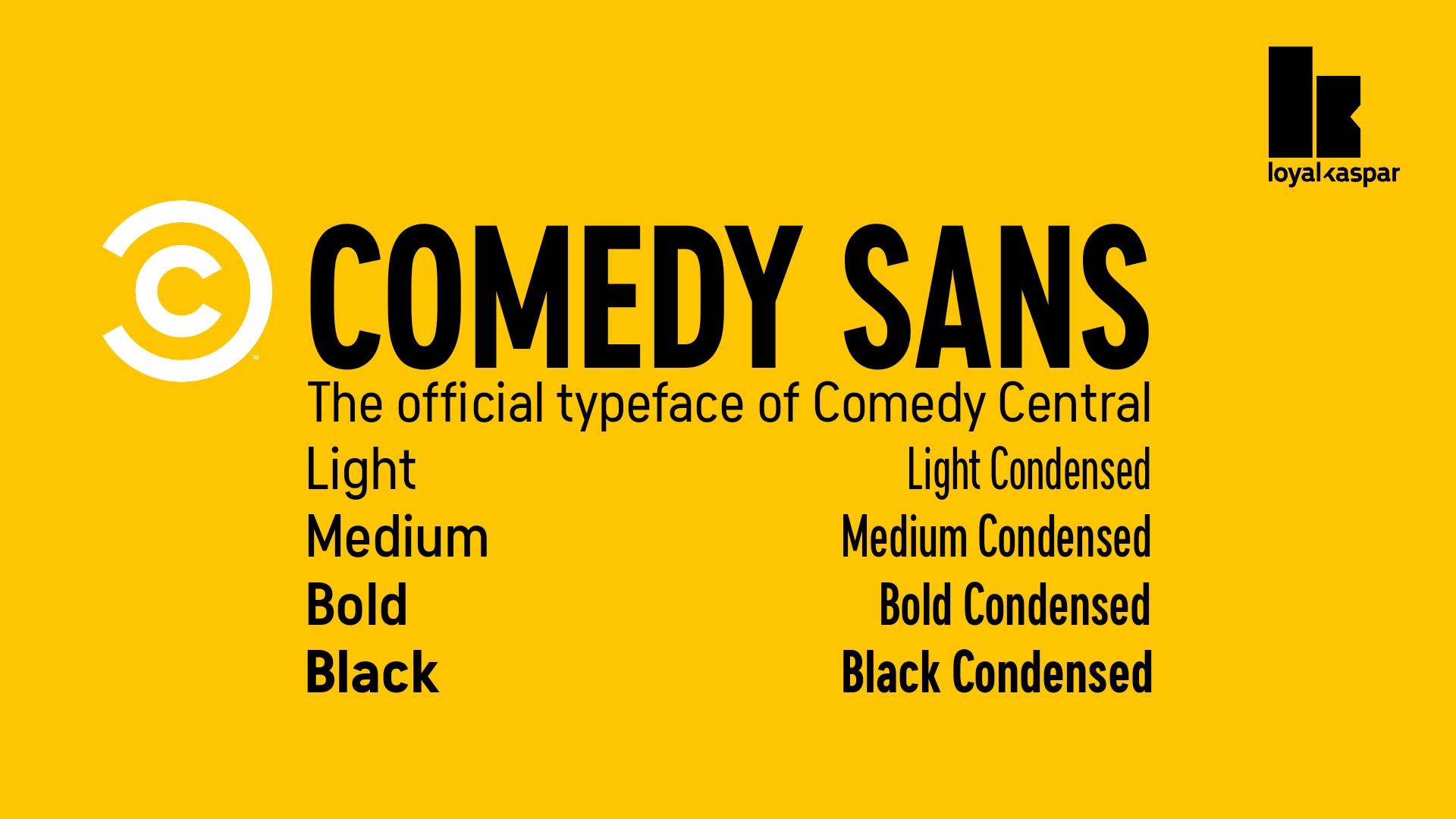 ComedySans现代无衬线简洁logo排版英文字体下载