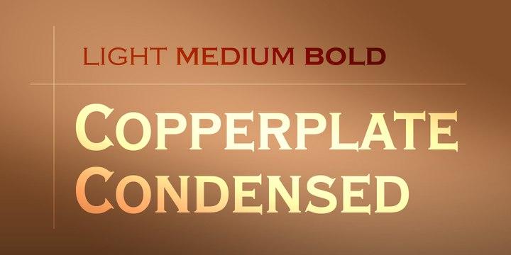 Copperplate现代创意logo英文字体下载