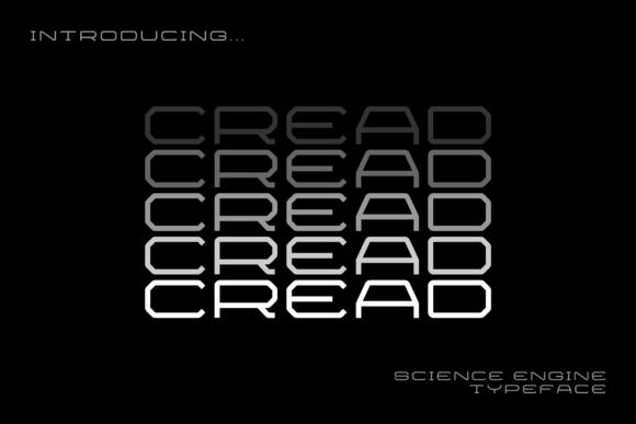 Cread现代个性创意设计logo英文字体下载