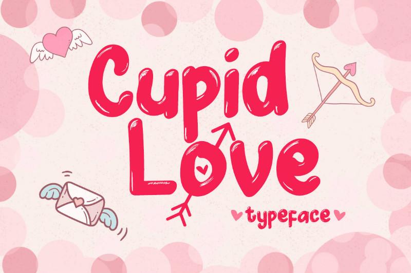 Cupid Love可爱卡通英文字体下载