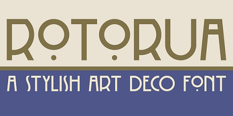 DKRotorua现代艺术logo英文字体下载