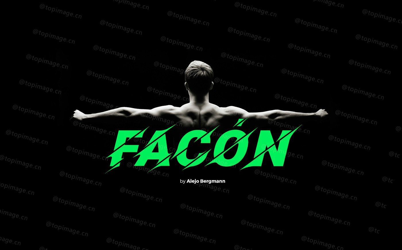 Facon个性logo标志好看的英文字体下载