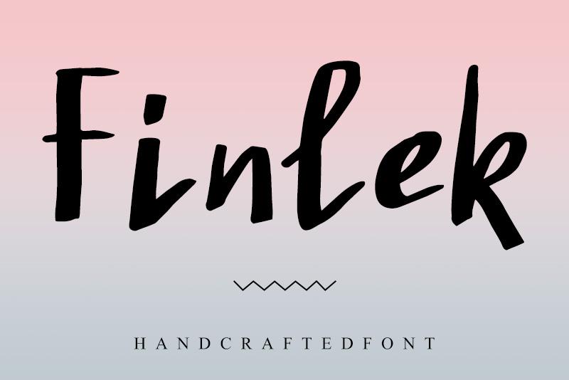 Finlek手写英文字体下载