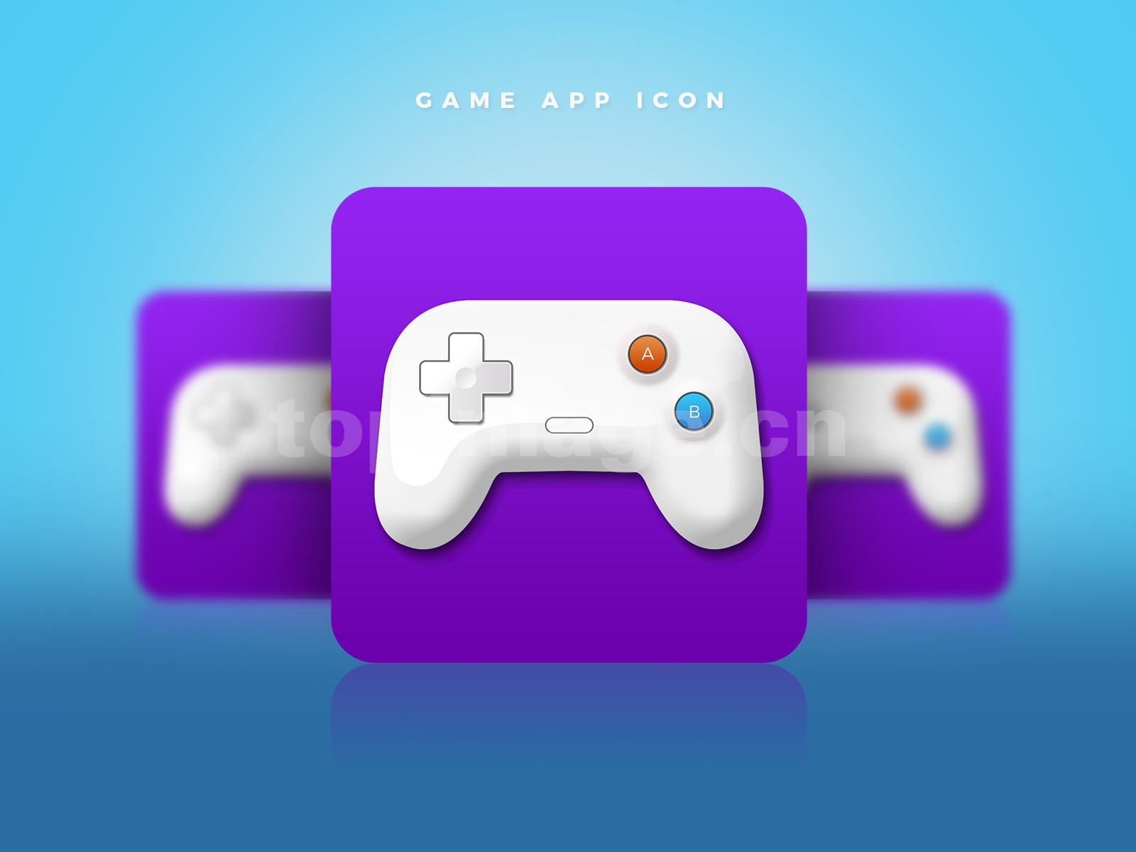 经典游戏图标icon 游戏手柄源文件下载