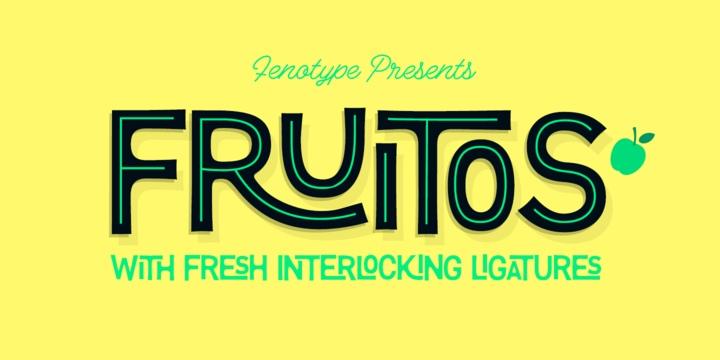 Fruitos现代无衬线设计师英文字体下载