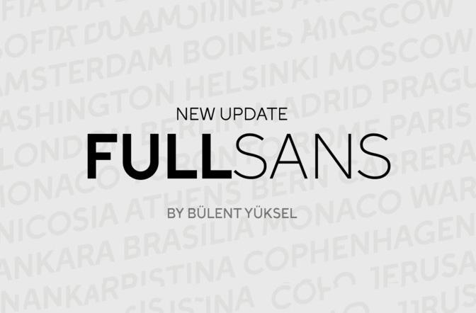 Full Sans现代无衬线简洁设计英文字体下载