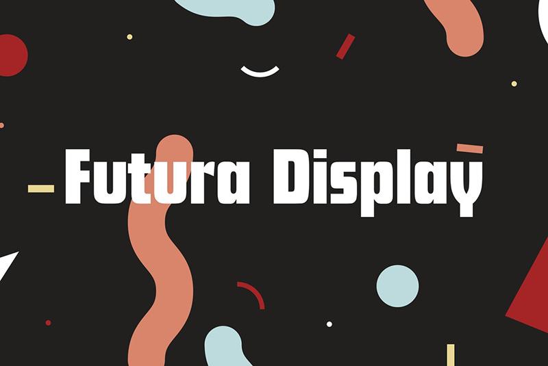 Futura Display现代无衬线logo英文字体下载