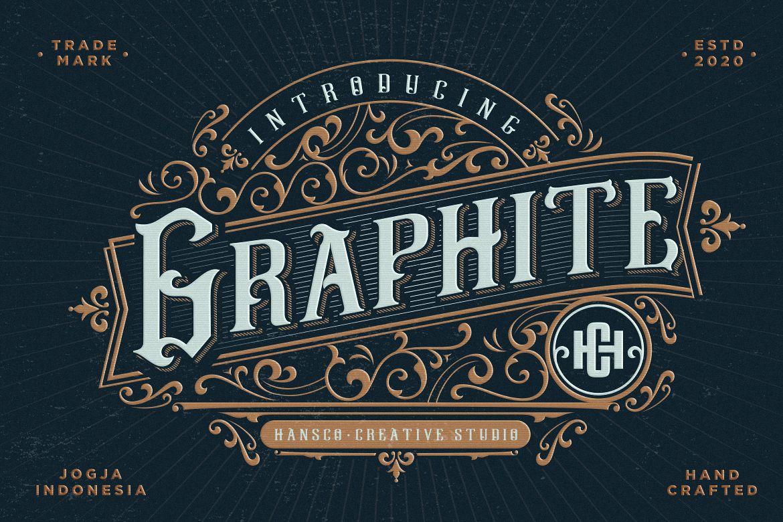 Graphite哥特个性英文字体下载