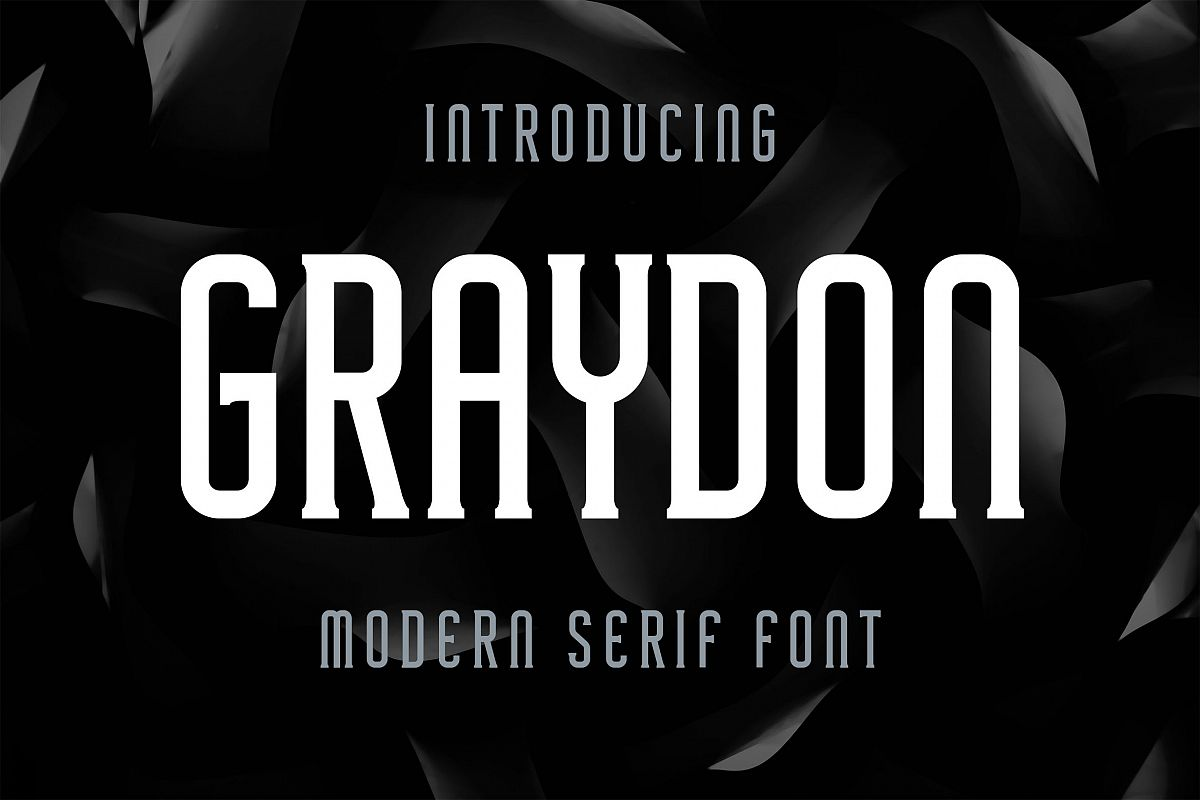 Graydon现代衬线英文字体下载