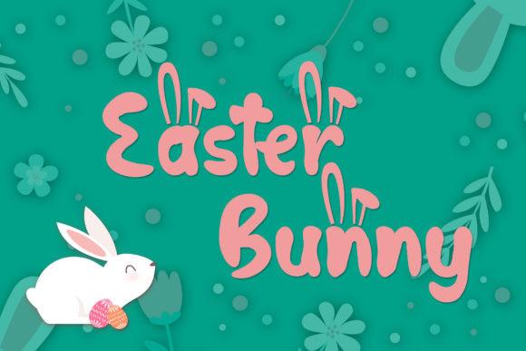 Hop Hop Bunny手写可爱卡通英文字体下载