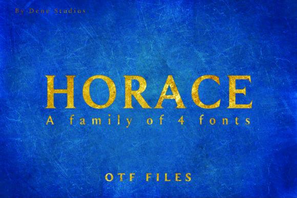 Horace衬线英文字体下载