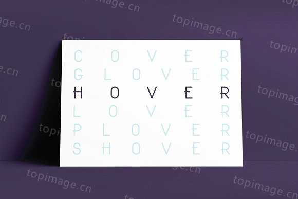 HoverClassic个性简洁经典logo英文字体下载