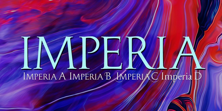 Imperia衬线复古老式英文字体下载