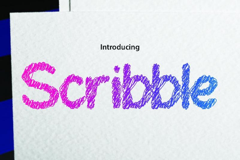 InkScribble手写卡通可爱儿童英文字体下载