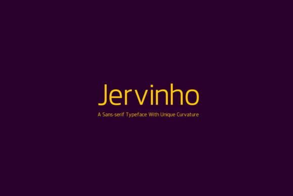 Jervinho现代简洁logo英文字体下载