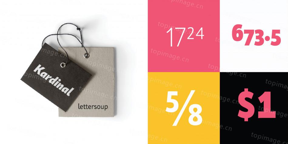 KardinalPr现代简洁排版大气logo设计英文字体