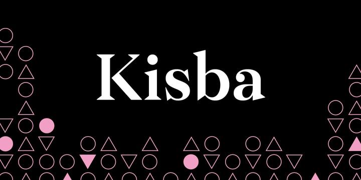 Kisba衬线经典英文字体下载