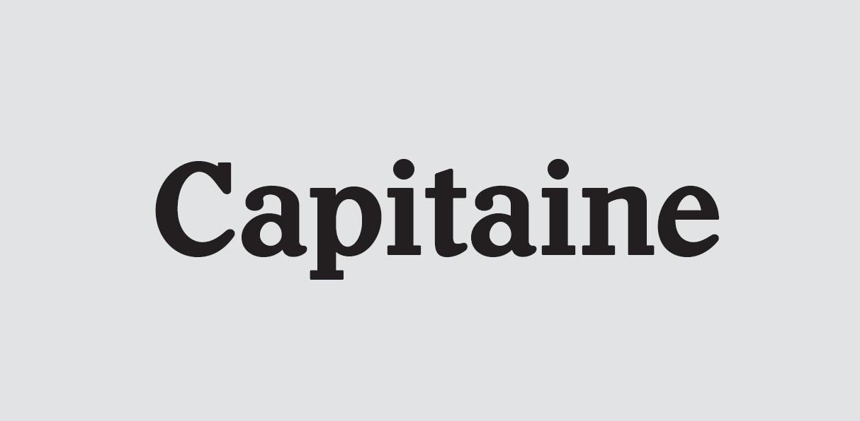 Capitaine衬线家族英文字体下载