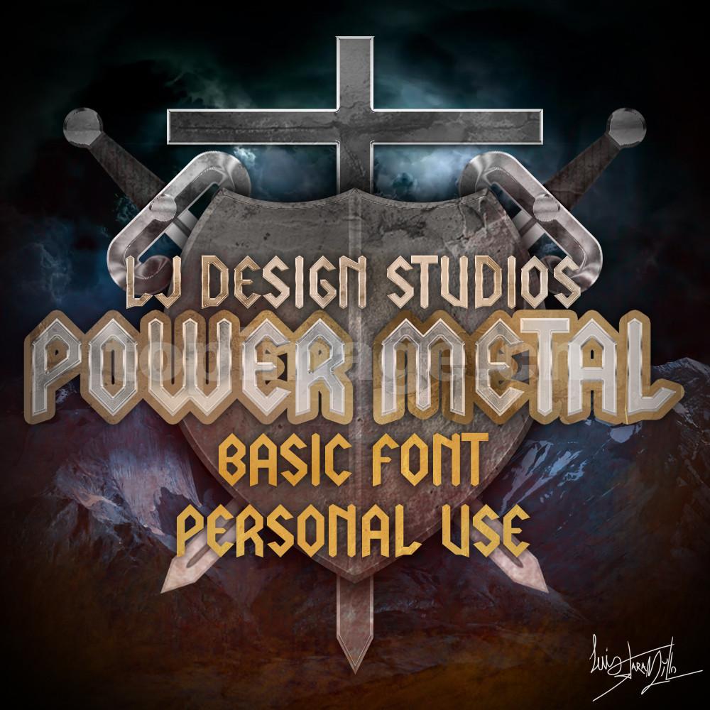 lj-design-studios哥特式异形金属好看的logo海报英文字体下载