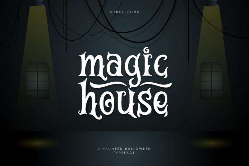 MagicHouse个性手写游戏英文字体下载