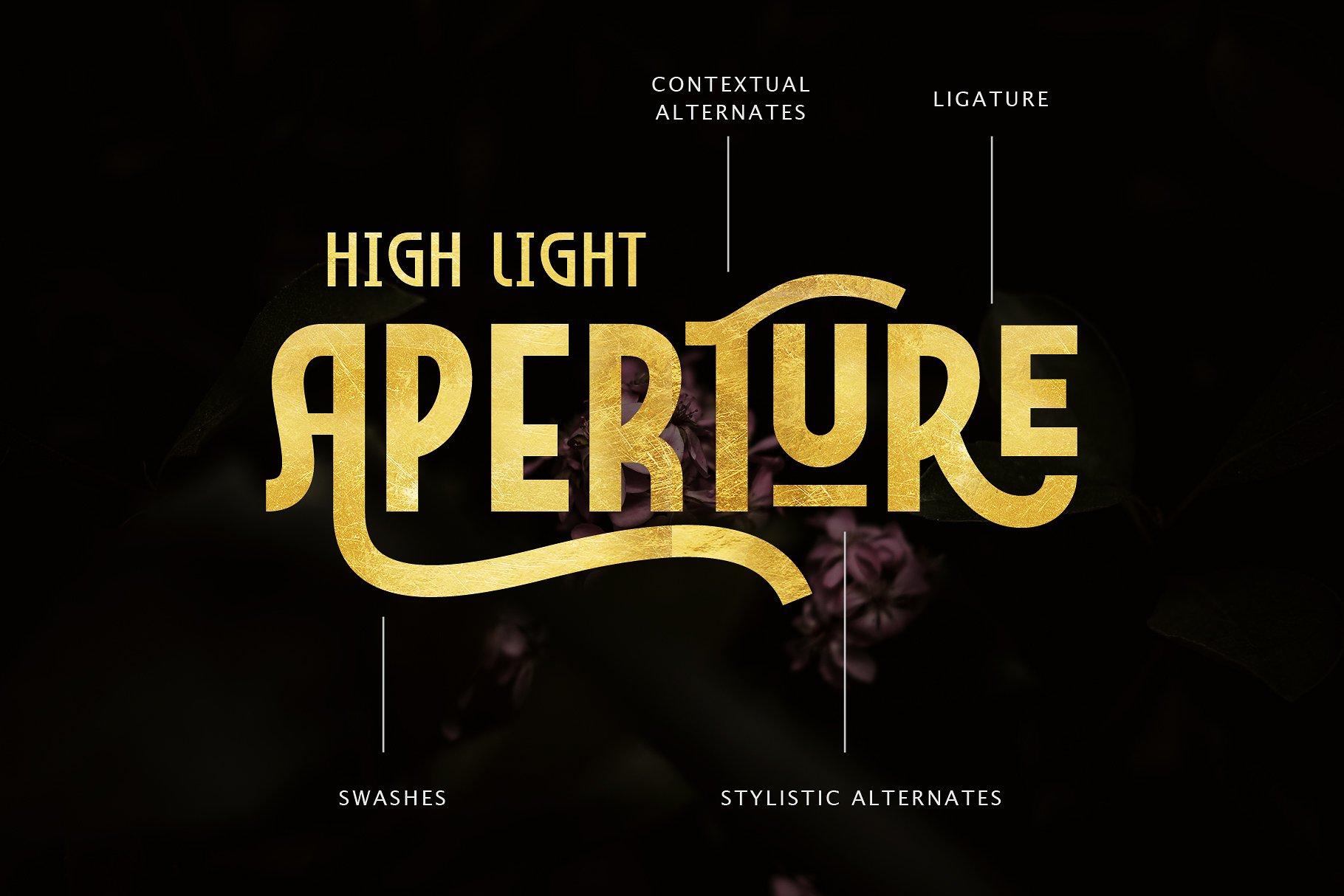 Marcheile现代创意logo设计英文字体下载
