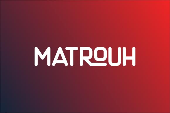 Matthias圆润现代简洁logo英文字体下载