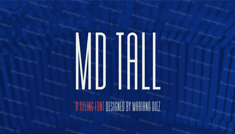 MdTall细长现代国际简洁英文字体下载