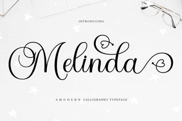 Melinda意大利圆体好看的飘逸连笔英文字体下载