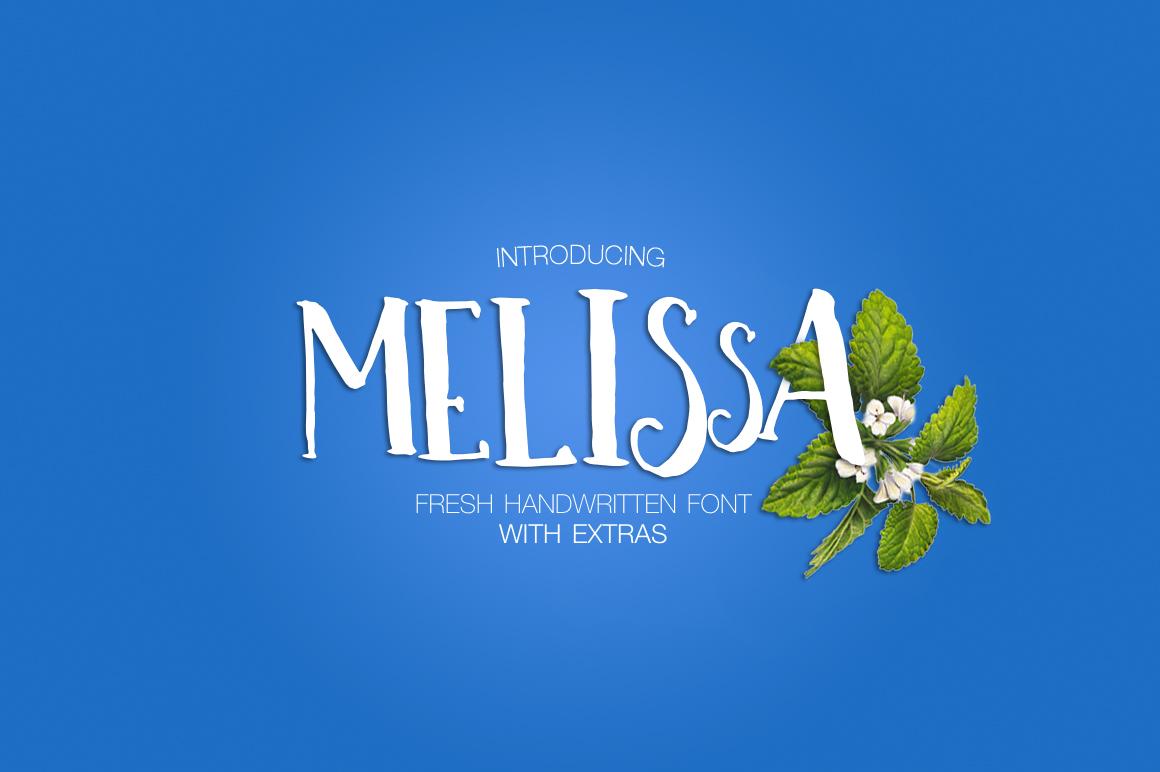 Melissa手绘游戏动漫个性英文字体下载