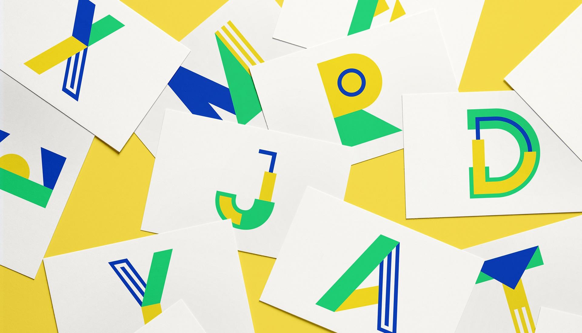 Metra创意现代设计logo色彩英文字体下载