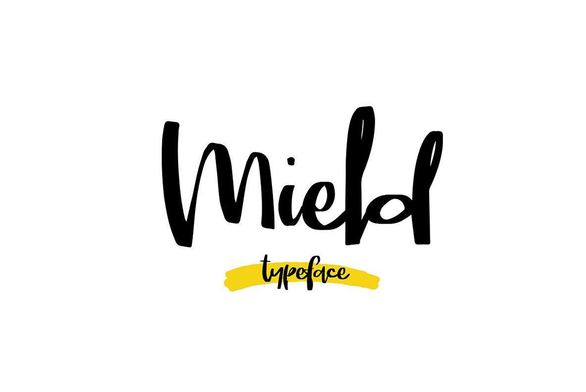 Mield个性潮流网站服饰印刷英文字体下载