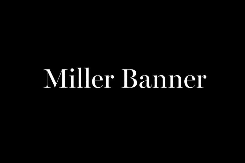Miller Banner 衬线英文字体下载
